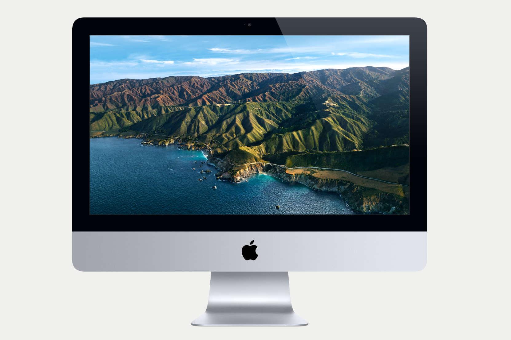 iMac 21-tuumainen