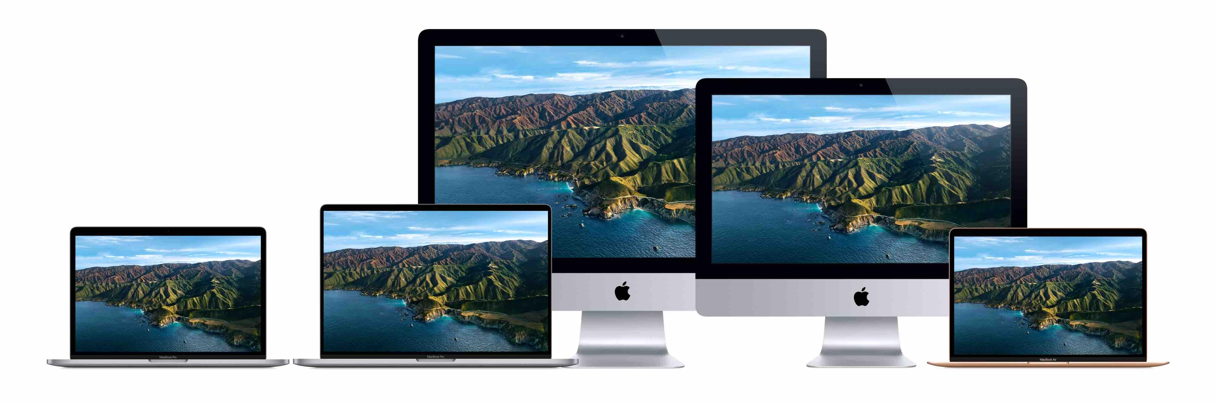 Mac product family image