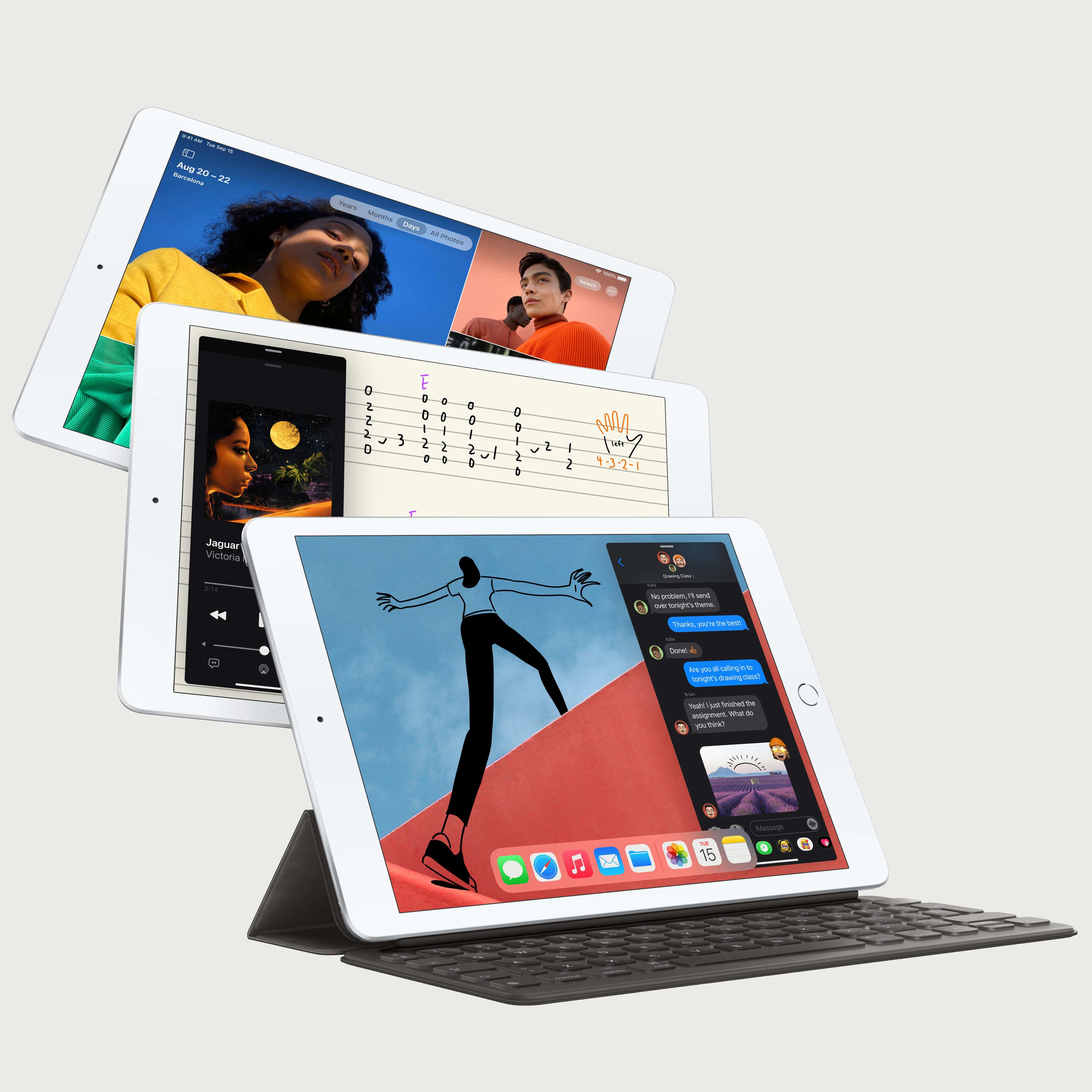 iPad (8th gen) ja Smart Keyboard