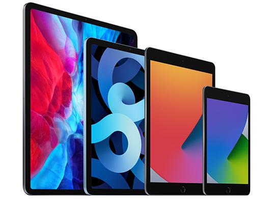 iPad product family
