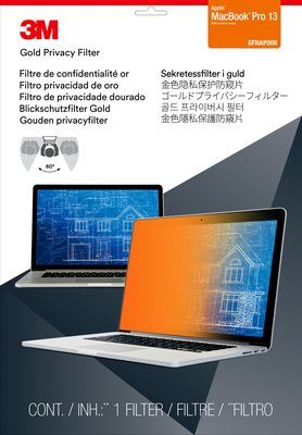 "3M Gold Privacy Filter for Apple MacBook Pro 13"" Touch Bar"