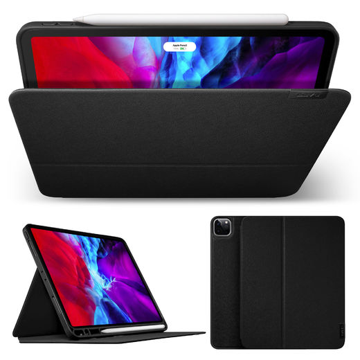 "LAUT Prestige Folio - iPad Pro 12.9"" (3rd & 4th gen) 2020 - Black"