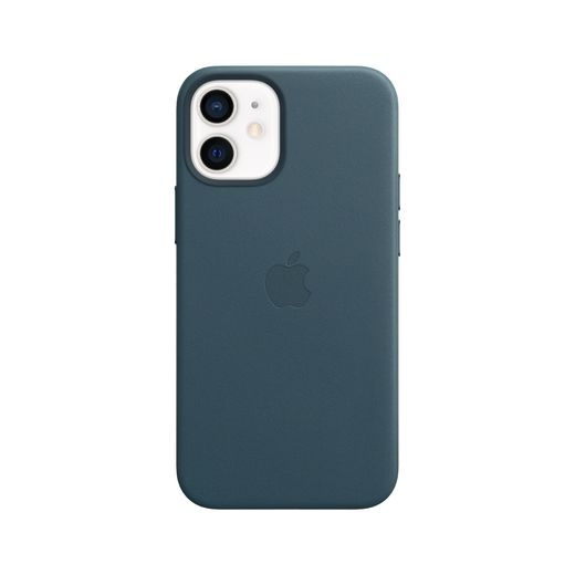 Apple iPhone 12 mini Leather Case with MagSafe - Baltic Blue