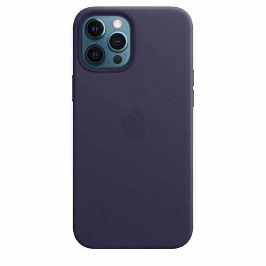 Apple iPhone 12 Pro Max Leather Case  MagSafe - Deep Violet