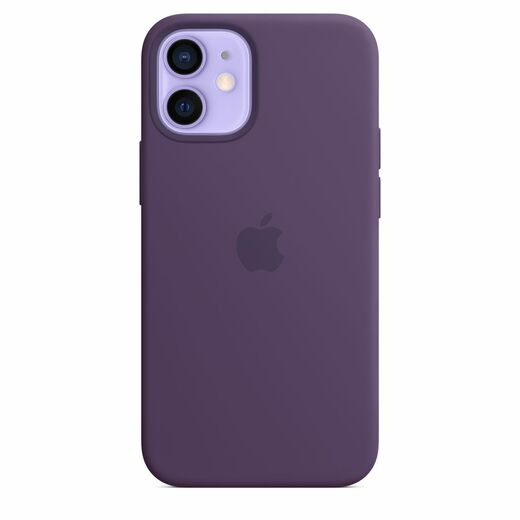 Apple iPhone 12 mini Silicone Case  MagSafe - Amethyst