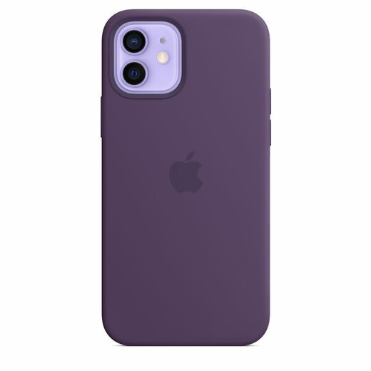 Apple iPhone 12 | 12 Pro Silicone Case  MagSafe - Amethyst