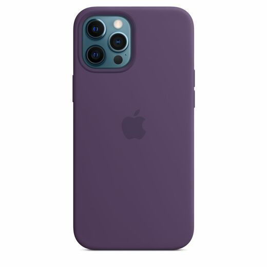 Apple iPhone 12 Pro Max Silicone Case  MagSafe - Amethyst
