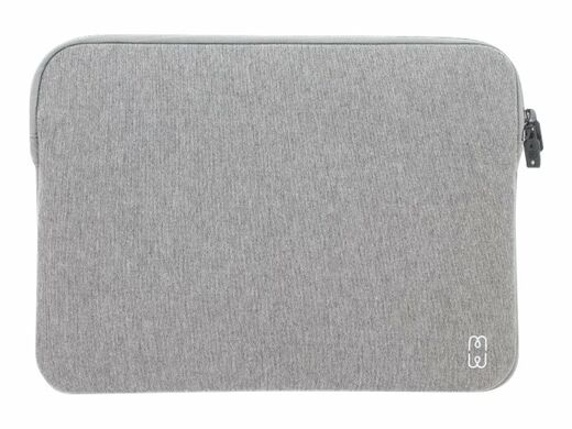 "MW BASIC sleeve MB Pro & Air 13"" USB-C memory foam and inside lining - GREY/WHITE"