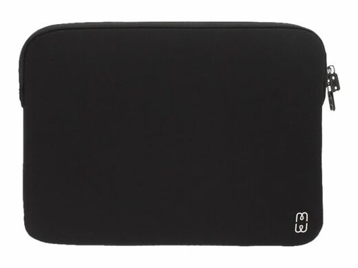 "MW BASIC sleeve MB Pro & Air 13"" USB-C memory foam and inside lining - BLACK/WHITE"