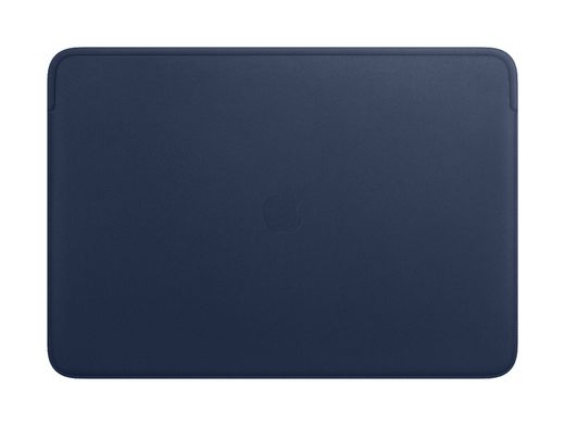 Apple Leather Sleeve for 16‑inch MacBook - Midnight Blue