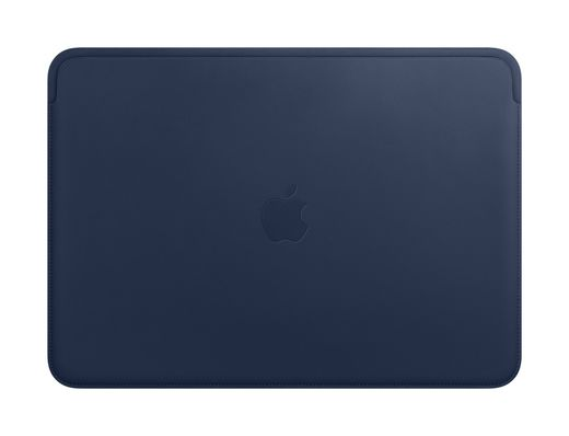 Apple Leather Sleeve for 13‑inch MacBook - Midnight Blue