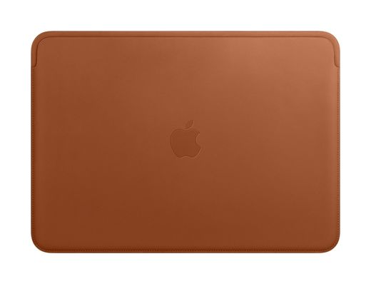 Apple Leather Sleeve for 13‑inch MacBook - Saddle Brown