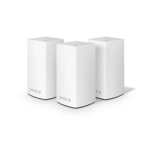 Linksys VELOP Whole Home Intelligent Mesh Wi-Fi System (Dual Band, 3 nodes)