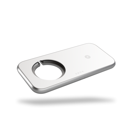 ZENS Aluminium 3 - 1 Wireless Charger with 45W USB PD Designed for Magsafe