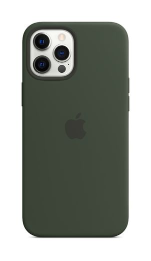 Apple iPhone 12 Pro Max Silicone Case with MagSafe - Cypress Green