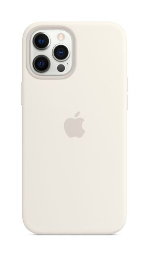 Apple iPhone 12 Pro Max Silicone Case with MagSafe - White